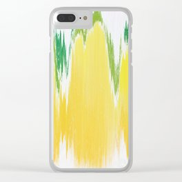 Pixel Sorting 59 Clear iPhone Case