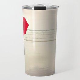 The Red Umbrella Travel Mug