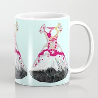 blossom Mugs featuring BLOSSOM by Ceren Kilic