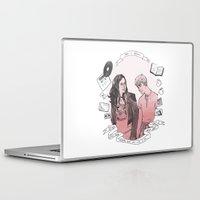 finn Laptop & iPad Skins featuring Rae + Finn by glitterfang