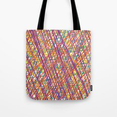 Scribble Crazy Tote Bag