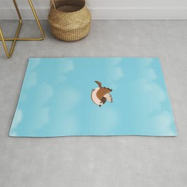 Little Flying Sparrow Rug