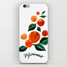 Orange Tree iPhone & iPod Skin