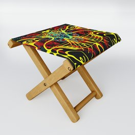 We come in peace Folding Stool