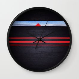 The Light of the Triangle Wall Clock