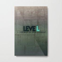 leveL - Title Metal Print