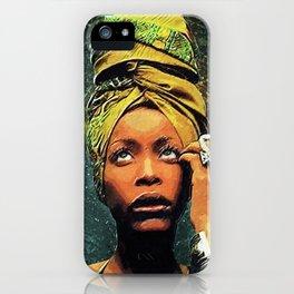 Erykah Badu iPhone Case