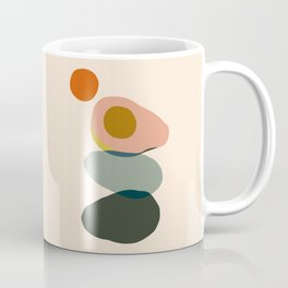 Abstract Avocado Coffee Mug