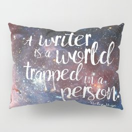 Victor Hugo Writer Quote Pillow Sham
