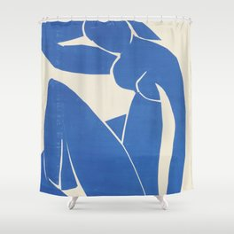 Blue Nude by Henri Matisse  Shower Curtain
