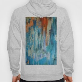 Symphony in Orange and Blue Hoody