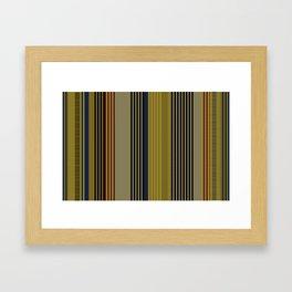 Vertical stripes #1 Framed Art Print