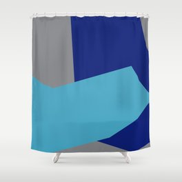 Minimalism Abstract Colors #2 Shower Curtain