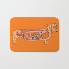 Secrets of the Dachshund  Bath Mat