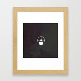 headshot perk Framed Art Print