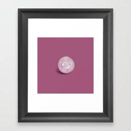 Oniion Framed Art Print