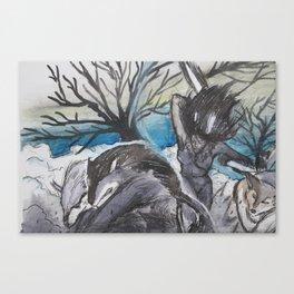 Series 1.1: The Hunt Canvas Print