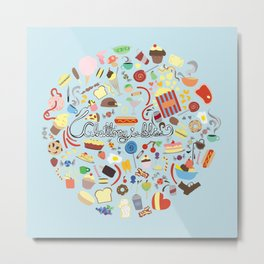 Gluttony Is Bliss Metal Print