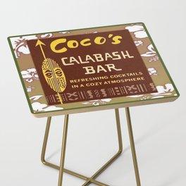 Tiki Art - Coco's Calabash Bar Side Table