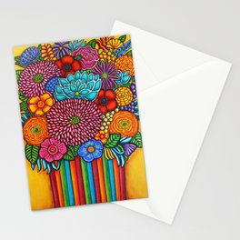 Celebration Bouquet Stationery Cards
