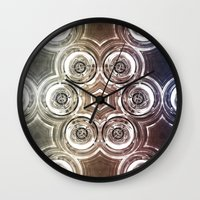 glass Wall Clocks featuring GLASS by Zeno Photography