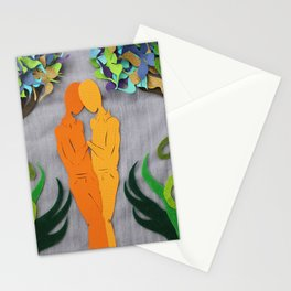 Summer kiss 1 Stationery Cards