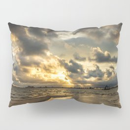 Golden Summer Evening Pillow Sham