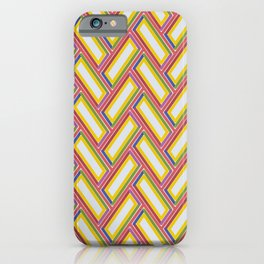 PINBALL channels and bright lights create retro vibe iPhone Case