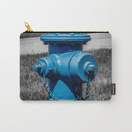 Firefightn' Blues Selective Color Fire Hydrant Fire Plug Carry-All Pouch