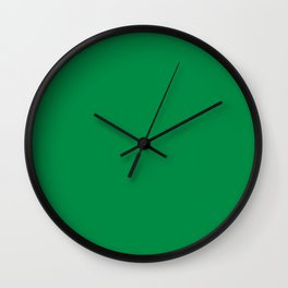 Fern Green Wall Clock