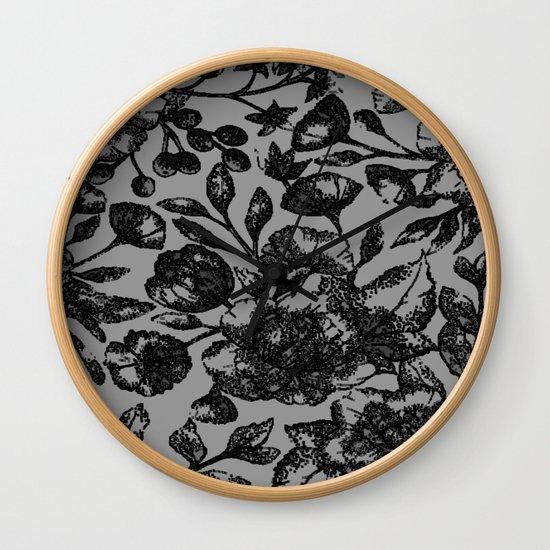 Black & White Floral by nlmiller07art