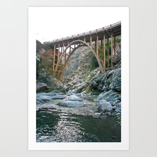 Bridge To Nowhere (II) Art Print