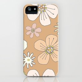 Fun and Funky Flowers No. 5 iPhone Case