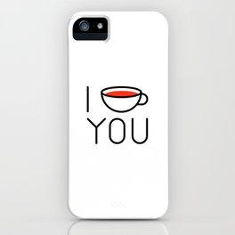 I Coffee You - Love, Coffeeholic iPhone Case