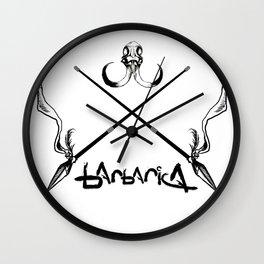 Barbarica Emblem Wall Clock