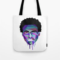 childish gambino Tote Bags featuring Childish Gambino by G-Fab