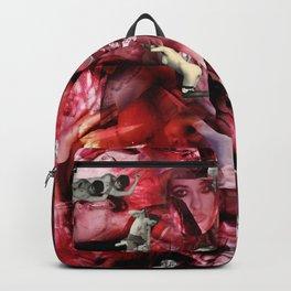 Scarlet Ocean Tempest Backpack