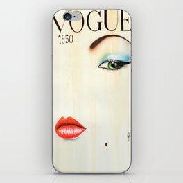 Vouge iPhone Skin