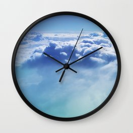 Cloudscape 1 Wall Clock