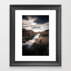 Watson Lake Framed Art Print