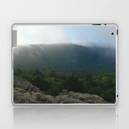 Morning Fog in the Boston Mountains Laptop & iPad Skin