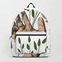 Hands and nature Backpack