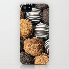 Truffle Chocoholic Fudge Mania iPhone Case