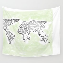 We are the World  Wall Tapestry