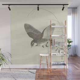 Flying quail - Ohara Koson (1900-1930) Wall Mural