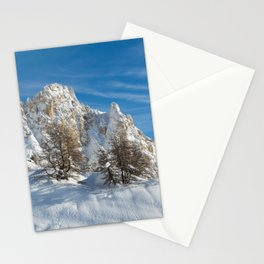 Alpine Mountain, Les Arcs Resort Stationery Cards