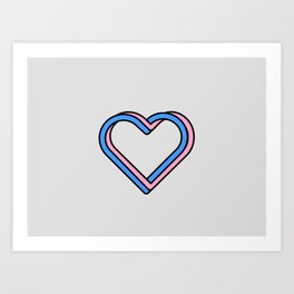 Love 3D Art Print