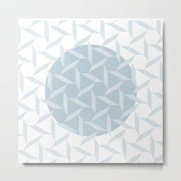 pattern circle Metal Print