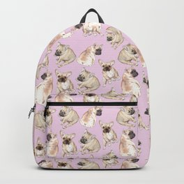 Frenchies: French Bulldog Puppies Pattern Backpack