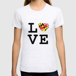 Love Maryland T-shirt